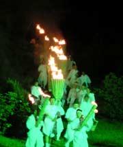 美瑛火祭り